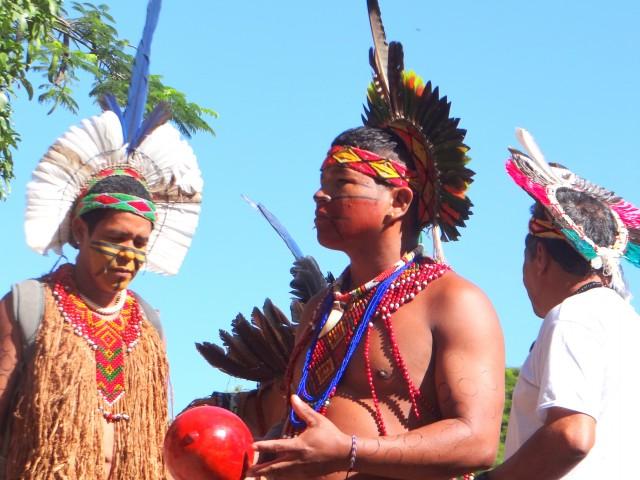 Pataxó e Tupinamba em Brasilia