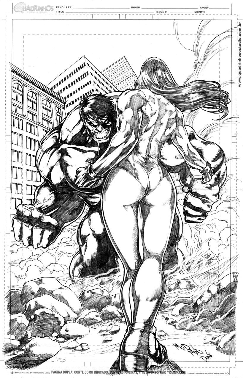 she hulk vs hulk 2012 she hulk vs vampirella 2012