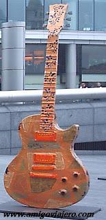 Exposición Gibson Les Paul ,London, www.amigoviajero.com