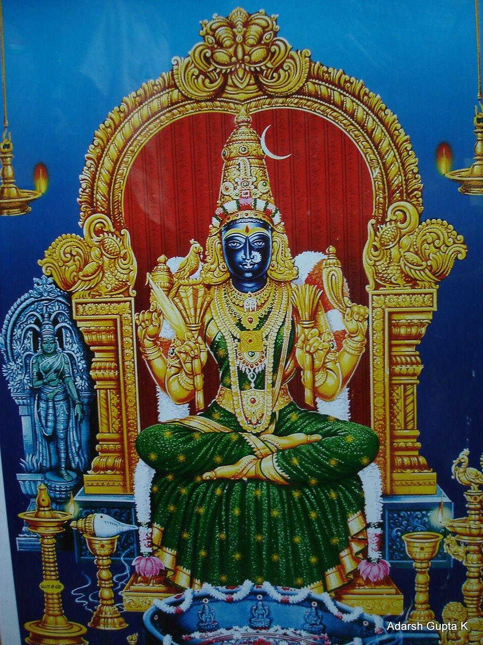 shivam kanchi kamakshi amman temple