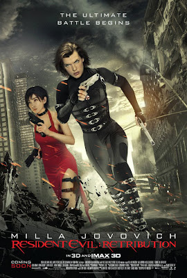 Resident  Evil 5: Retribution 2012 poster