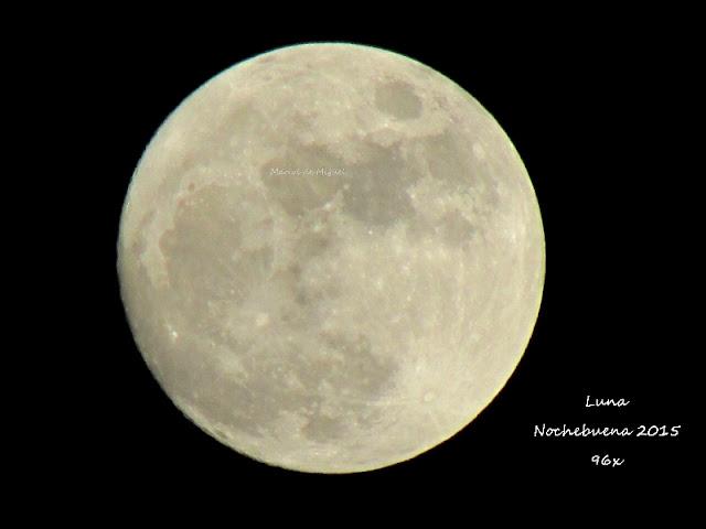 Luna Nochebuena 2015
