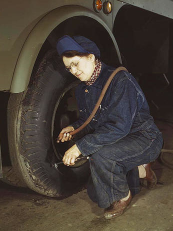 Flashback Summer: 1940s Working Woman Style Series - factory, farm, land girl