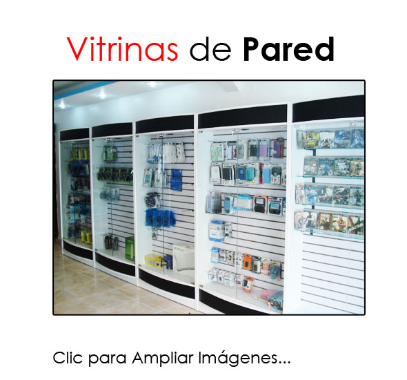 Vitrinas de pared jorrahe display for Vitrinas de pared