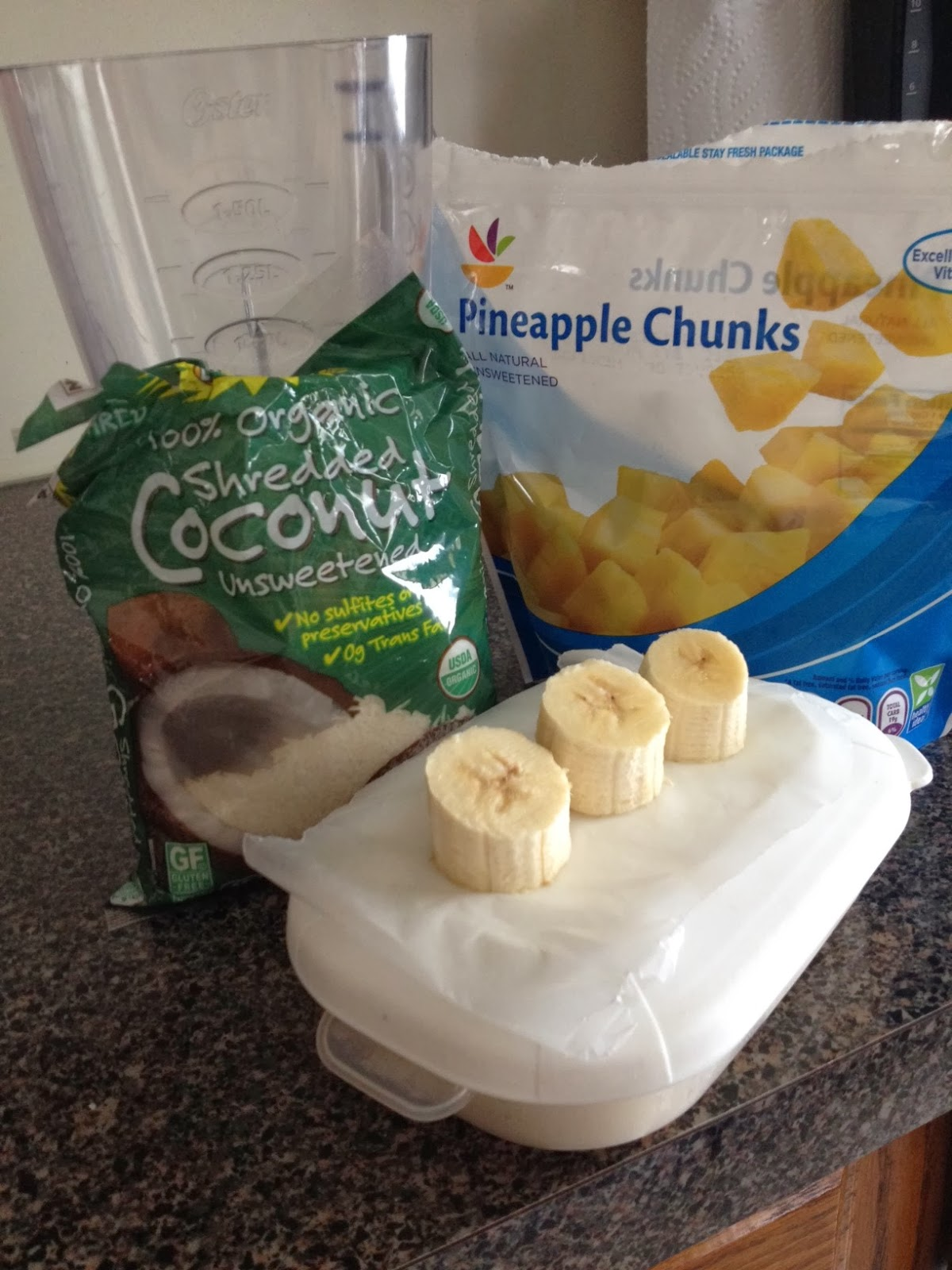 Fit for Success: Pina Colada Protein Shake