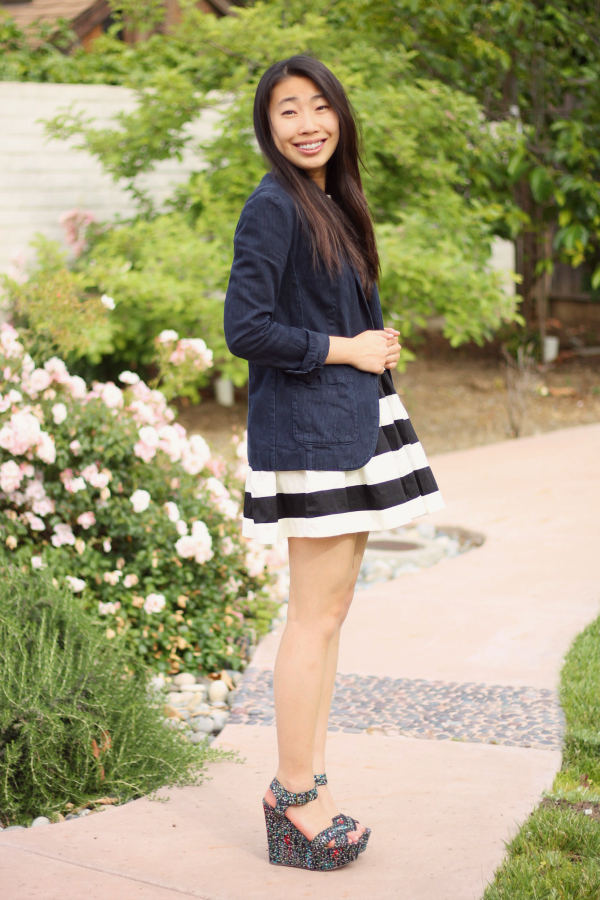 preppy style outfit
