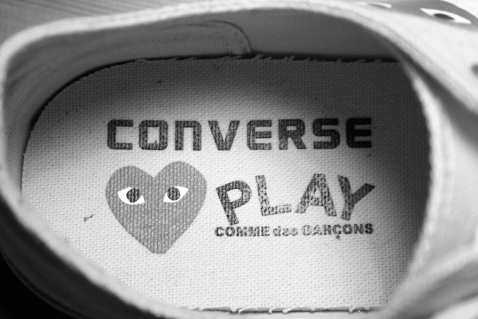 Converse Comme des Garçons Play - zapatillas - conerse