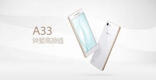 Oppo A33 Resmi Diluncurkan