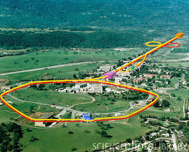 Stanford Linear Accelerator (2 miles Long)
