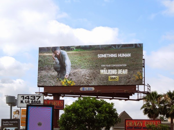 Walking Dead Something Human Emmy 2014 billboard