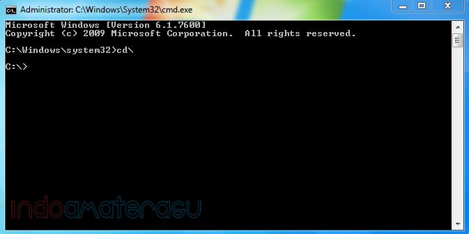 Mengatasi Windows Explores Has Stoped Working melalui cmd (command prompt) 2