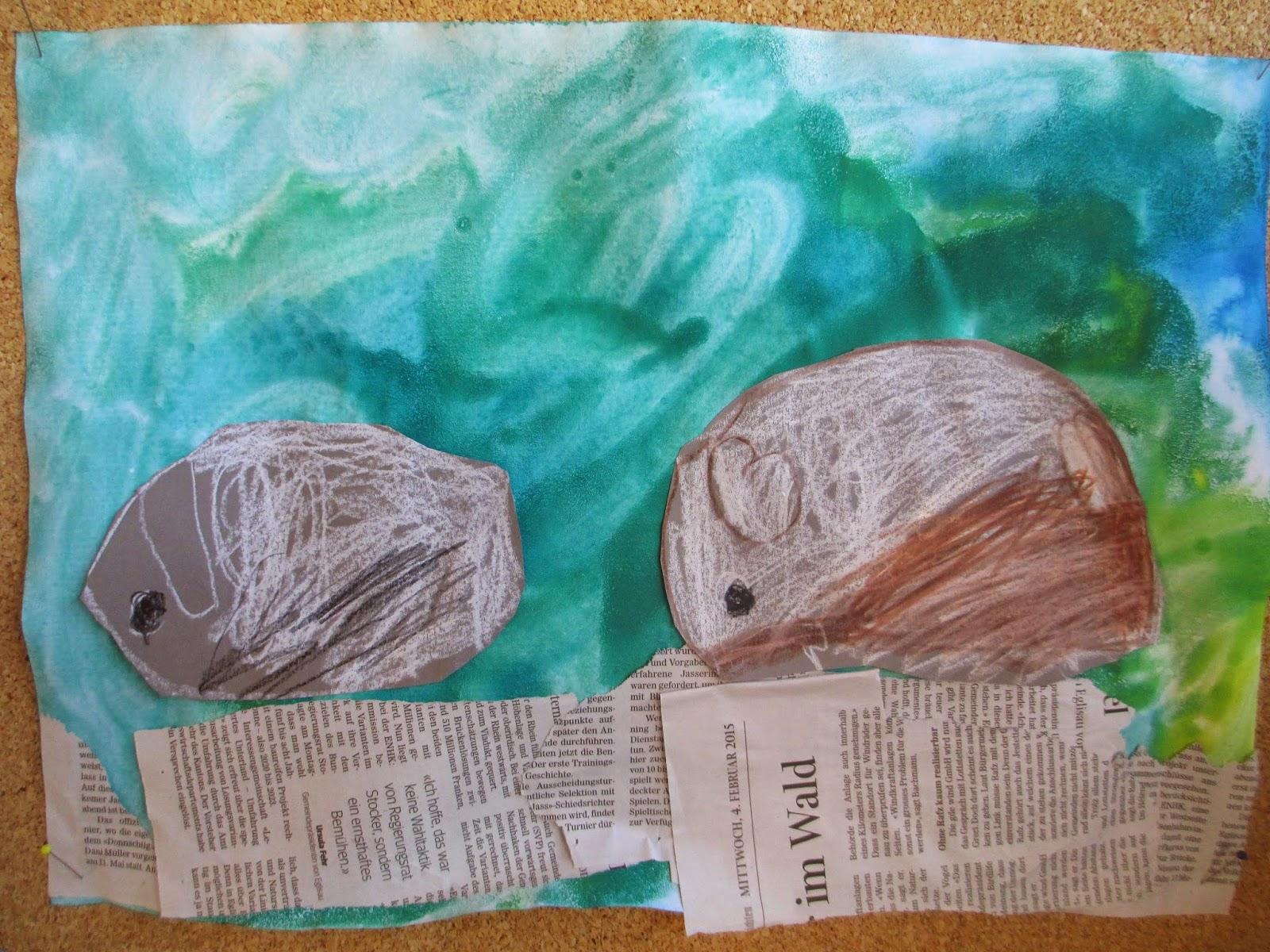 Kindergarten Meerschweinchen basteln und gestalten