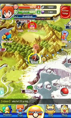 Pocket Arena Game Pokemon For Android