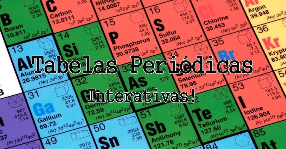 Universo qu mico tabelas peri dicas for Ptable tabela periodica