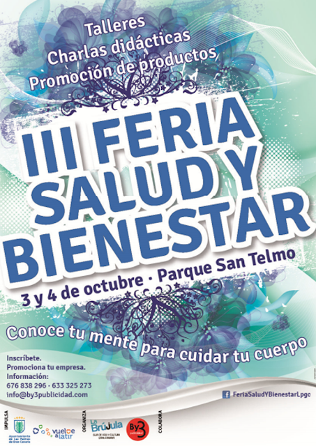 feria salud y bienestar 2015 Las palmas de gran Canaria