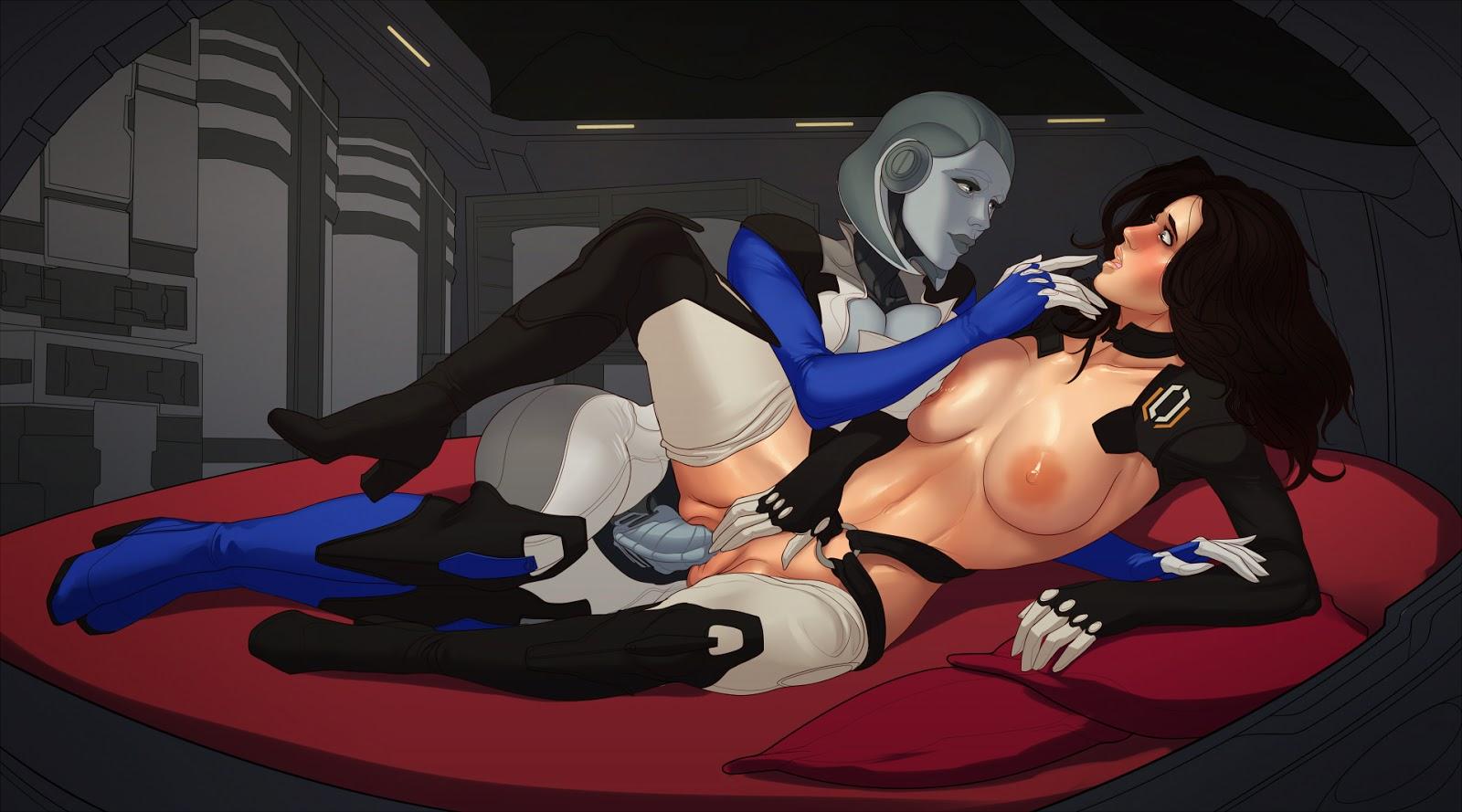 Mass effect women hentai gallery sexy scene