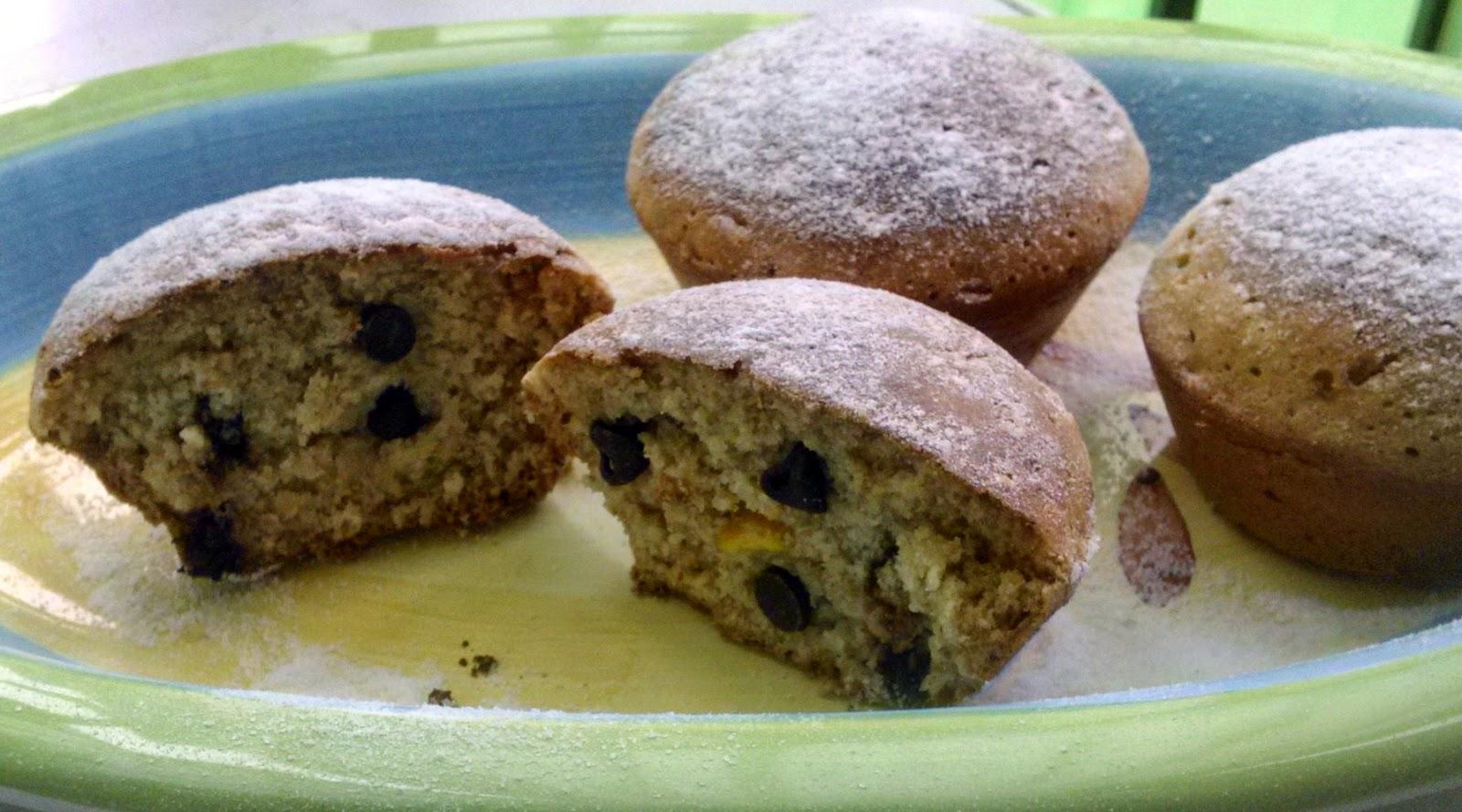 muffin integrali senza uova né burro