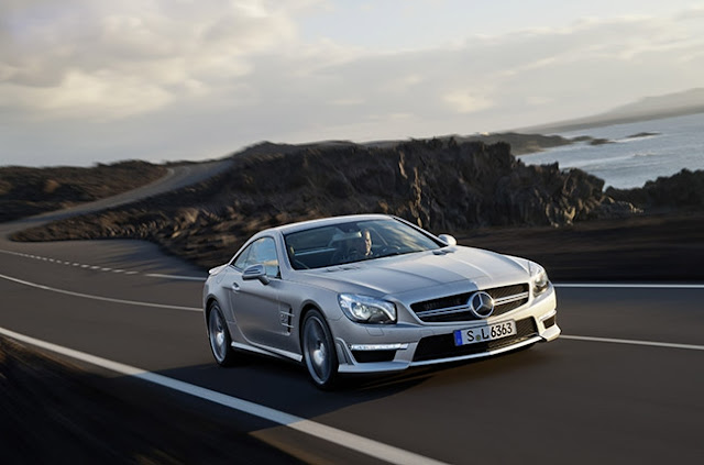 2012 Mercedes-Benz SL550