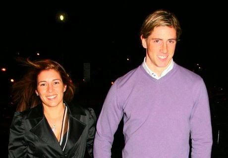 Fernando Torres Wife Olalla Dominguez Picture World