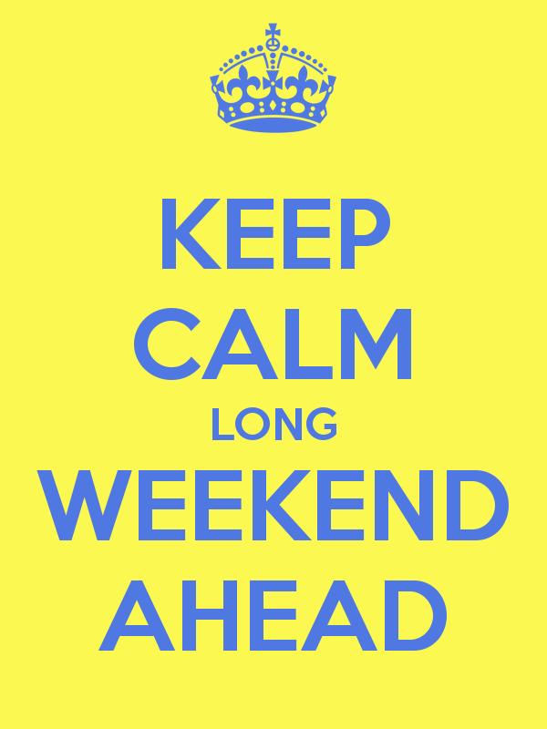 Long Weekend Ahead, October 6 Monday #walangpasok