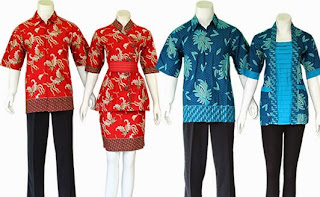 Foto Baju Batik Jogja Modern