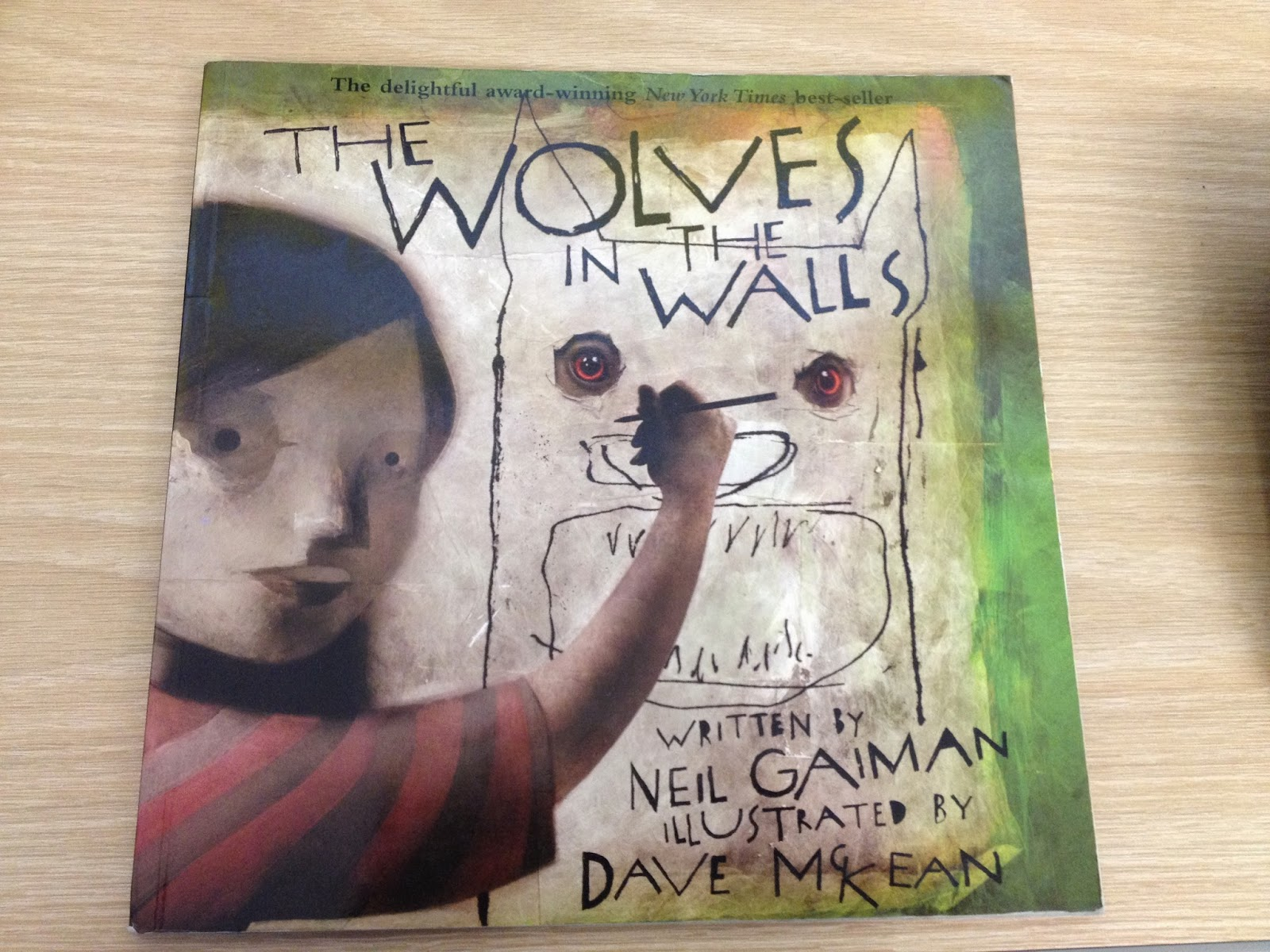 an analysis of wolves in the walls by neil gaiman Monster in neil gaiman's the graveyard book  picture book the wolves in the  walls (2003) where lucy is the only one in her family who is aware  in itself  does not exclude anything from the analysis, but rather broadens.