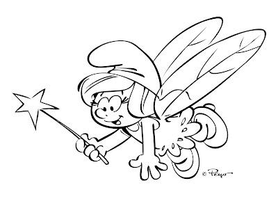 Desenho Os Smurfs para colorir