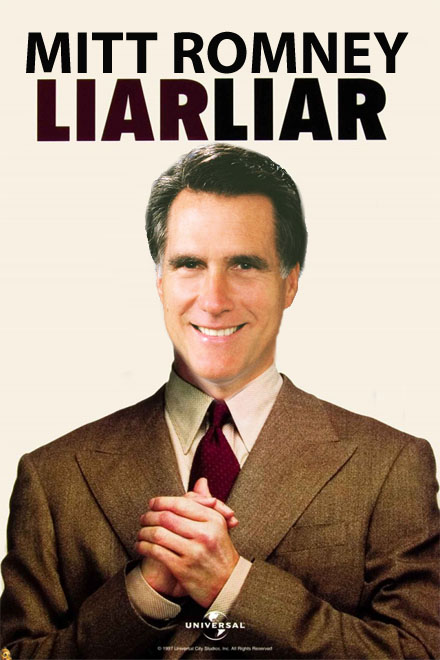 romney pathological liar