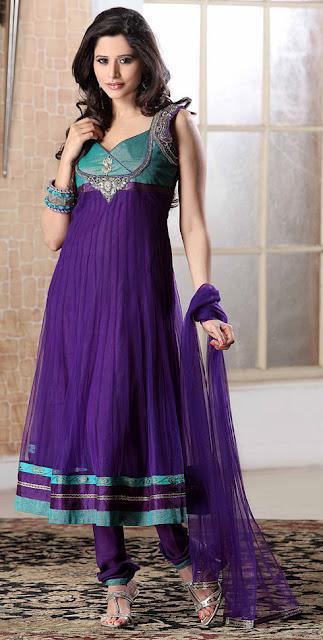 Ladies Fashion Fun: Latest Indian Frocks Styles Fashion 2012