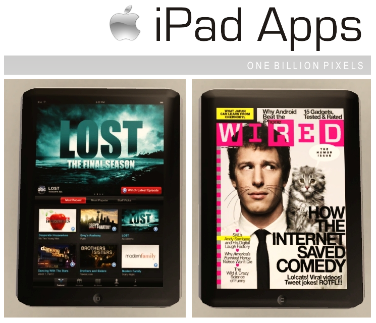 20 iPad Apps (Updated) - One Billion Pixels