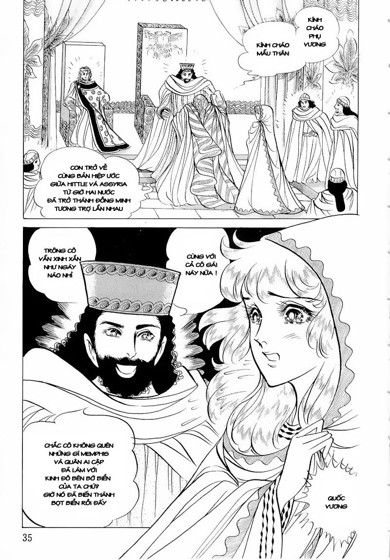 Nữ Hoàng Ai Cập-Ouke no Monshou chap 50 Trang 37 - Mangak.info