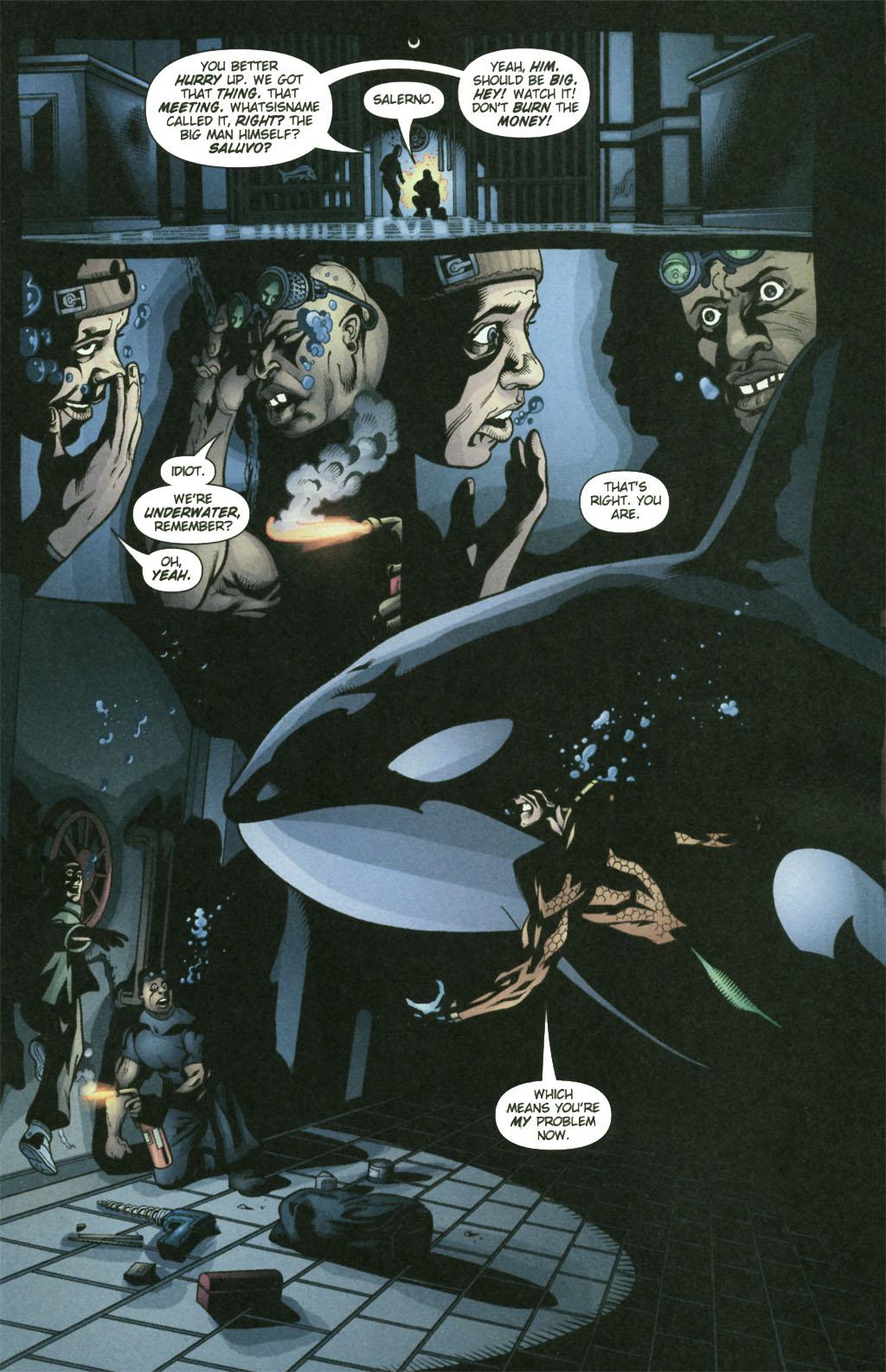 Aquaman (2003) Issue #21 #21 - English 14