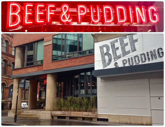 Beef and Pudding, Manchester