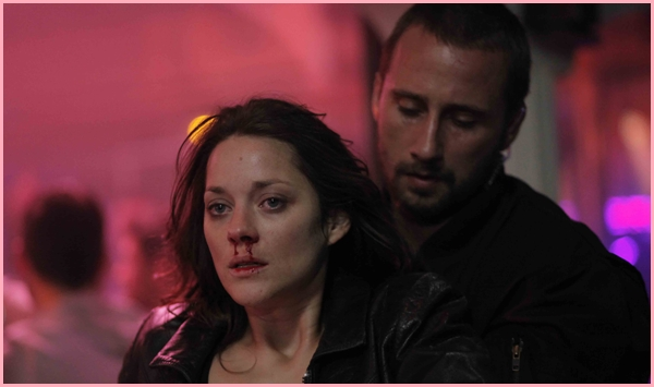 Marion Cotillard in Rust & Bone, Cannes 2012)