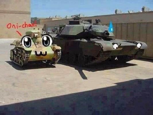 Que bonitos tanques