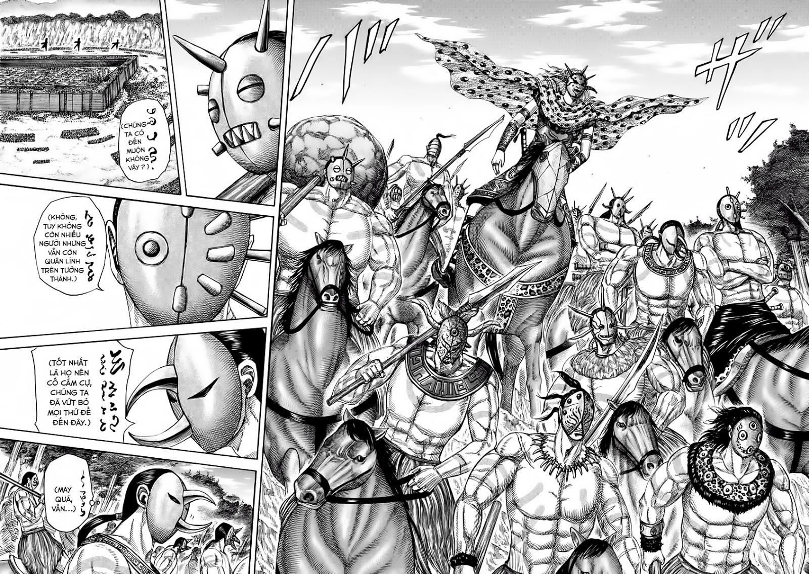 Kingdom - Vương Giả Thiên Hạ Chapter 346 page 9 - IZTruyenTranh.com