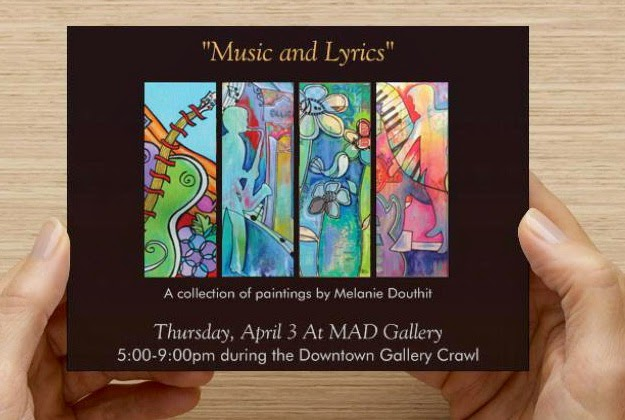 Melanie douthit art studio music and lyrics solo art show stopboris Gallery