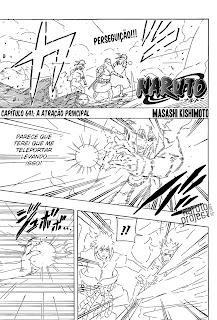 Naruto 641 Português Mangá leitura online