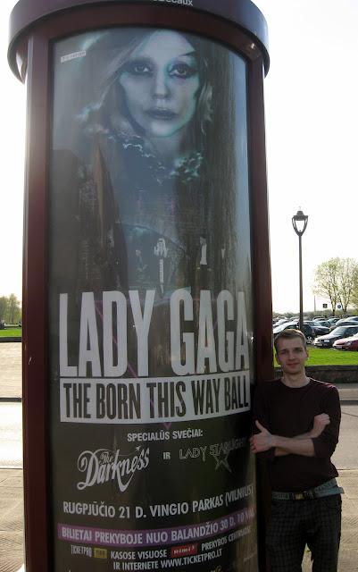 Леди Гага в Вильнюсе, гага в европе, гага беларусь, поездка на концерт леди гаги