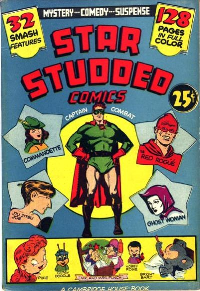 Star-Studded Comics # 1 (Sept 1963) - 32 page B and W American Fanzine