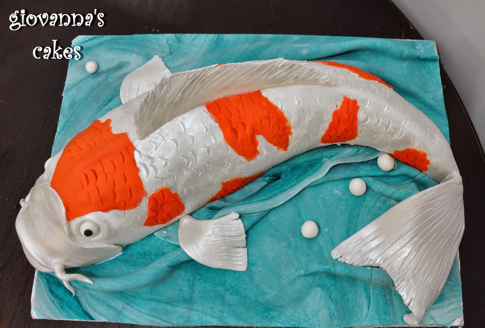 giovanna s cakes: Koi fish cake