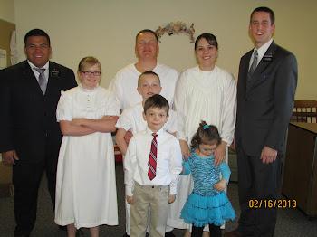 February Baptism