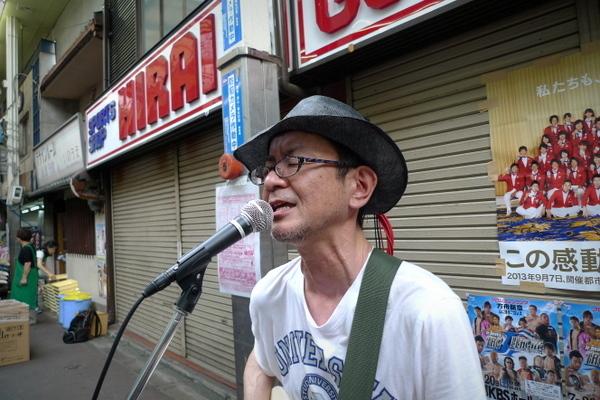 三条会商店街七夕祭りライブ2
