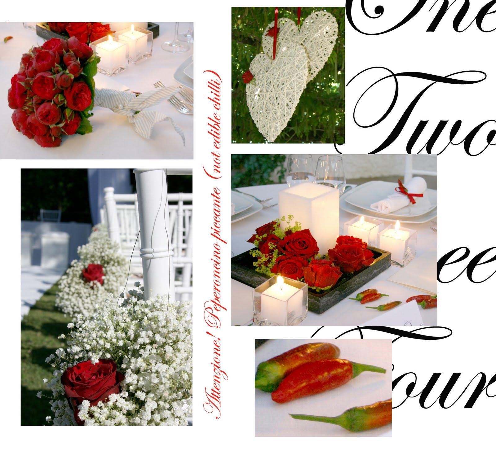 Matrimonio Tema Peperoncino : Flobywedding organizzatori di matrimoni tema bianco e rosso