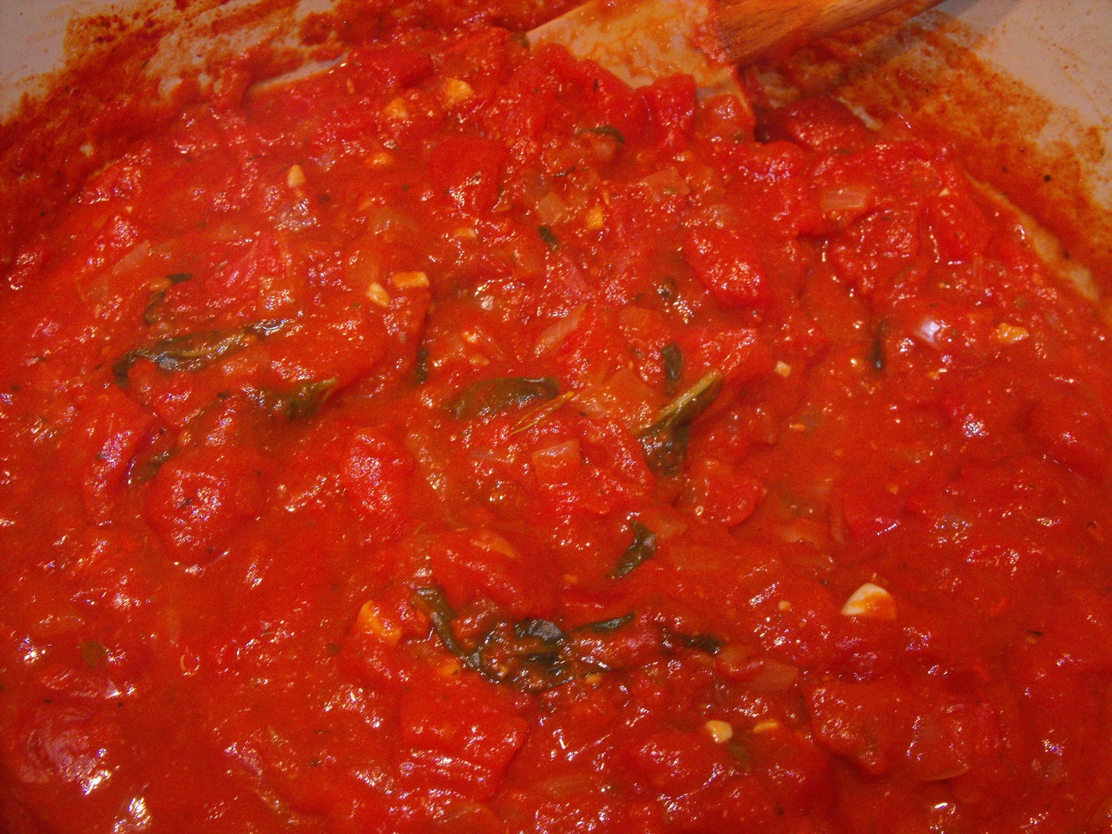 The Cilantro Kitchen  Back to Basics  Fat Free Marinara Sauce