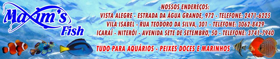 MAXIM´S FISH - ADERBAL XIMENES - PEIXES E AQUÁRIOS