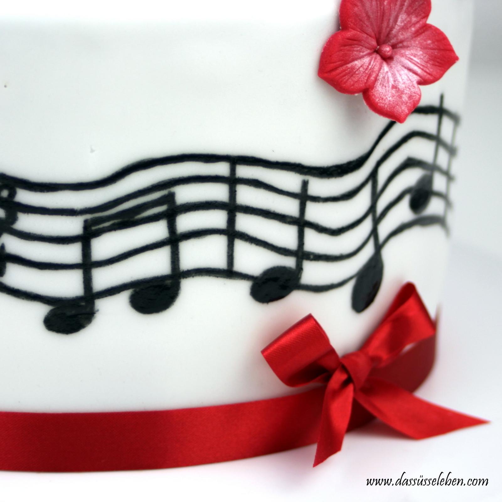 ... habe ich die schwarze Cake Painting Farbe vom Pati-Versand verwendet