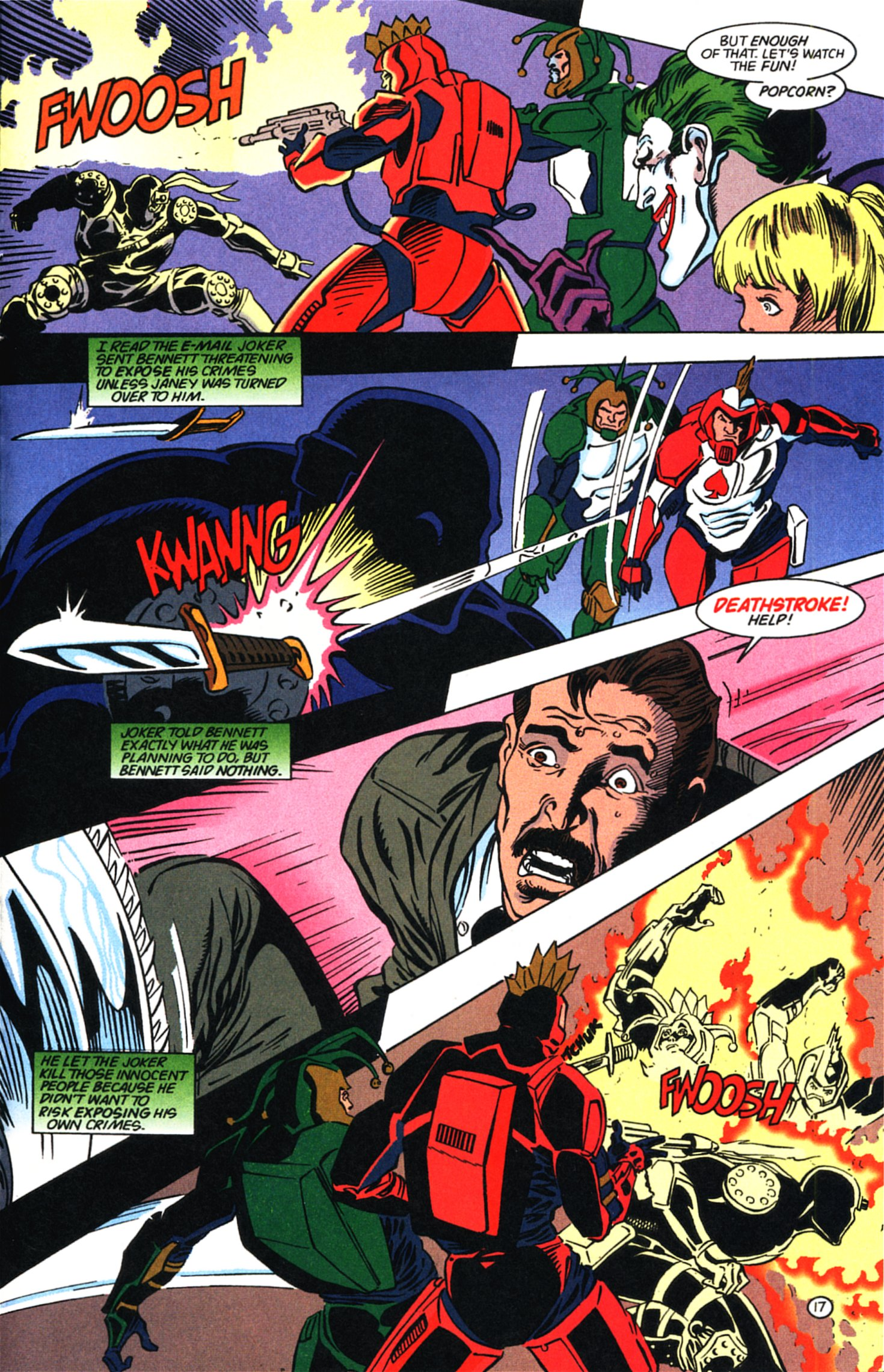 Deathstroke (1991) Issue #58 #63 - English 18