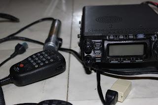 DTMF mikrofonen och polismikrofon samt Yaesu FT-857 säljes.