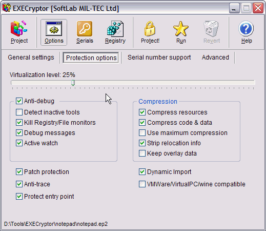 ExeCryptor Basic Unpacker v1.0